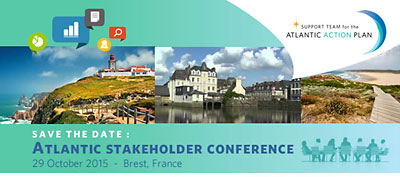Atlantic stakeholder platform conference, 29 oct. 2015, Brest – INCRIPTIONS OUVERTES