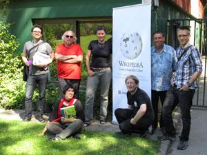 Wikipédia a investi le Conservatoire botanique national de Brest